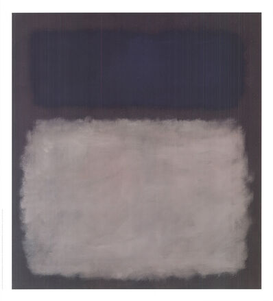 Mark Rothko, 'Blue & Gray, No Text', 2005