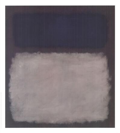Mark Rothko, 'Blue & Gray, No Text', 2005