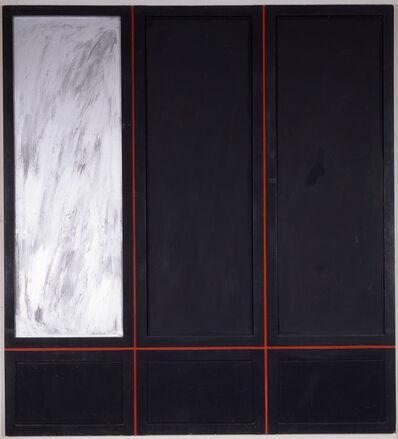 Tano Festa, 'Armadio con specchio', 1962