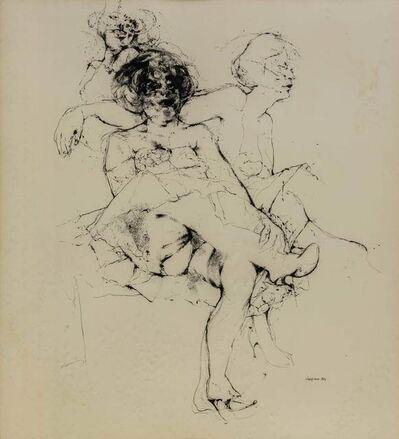 Renzo Vespignani, 'Figure', 1960