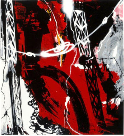Futura, 'Helix Object (Red)', 2008