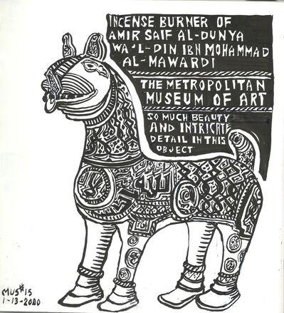 Susan Greenstein, 'Iranian Incense Burner', 2019