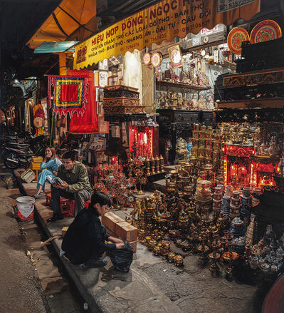 Anthony Brunelli, 'Hanoi Night Market', 2020