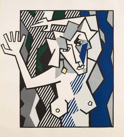 Roy Lichtenstein, 'Nude in the Woods, from Expressionist Woodcuts (G. 882, C. 174)', 1980