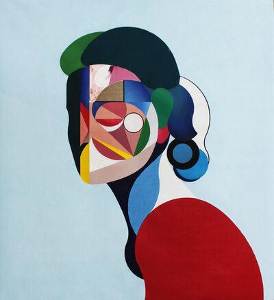Ryan Hewett, 'Female Linen Portrait', 2018