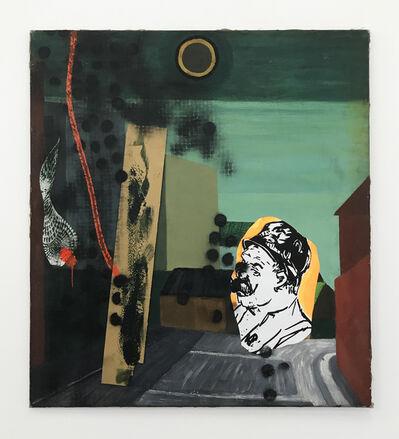 Claus Carstensen, 'Defaced Ella Petersen 1968 Lore (La Part Maudite)', 2017