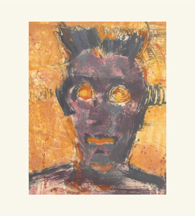 Elsa Flores, 'Monoprint from the Head Series', 1988
