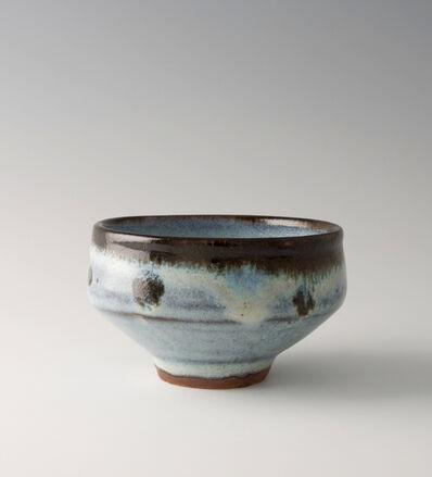 Shinsaku Hamada, 'Chawan, white glaze'