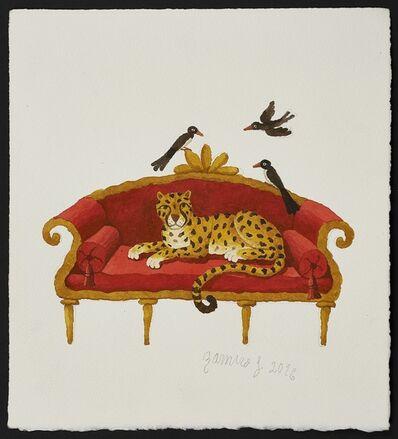 Ramiro Fernandez Saus, 'Resting Leopard', 2016