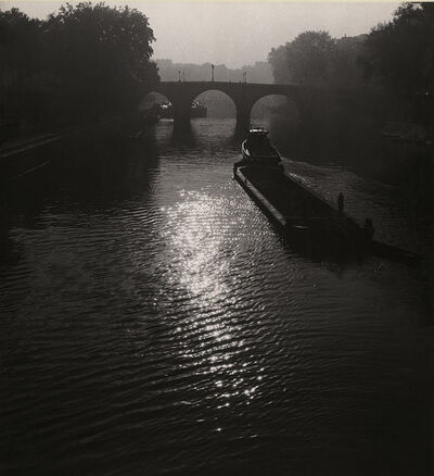 Albert Monier, 'Barges on the Seine, Paris', 1950s/1950s