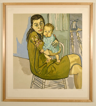 Alice Neel, 'Mother and Child (Nancy and Olivia) ', 1982