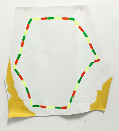 Oscar Figueroa, 'Pentagon, an Outlining Method', 2014