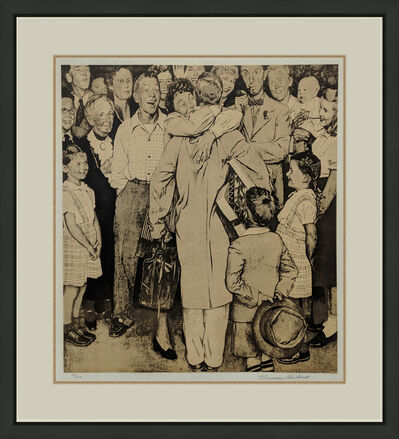 Norman Rockwell, 'THE HOMECOMING', 1971