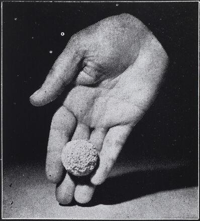 Alessandra Spranzi, 'Mano con una pallina (L'insieme è nero)', 2020