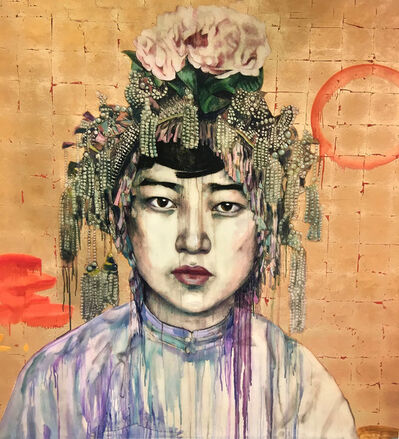 Hung Liu, 'Da Fan Che', 2018