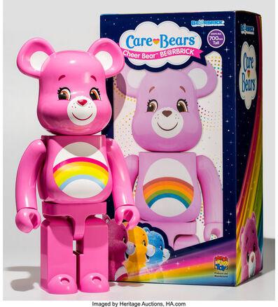 BE@RBRICK X Care Bear, 'Cheer Bear 1000%', 2017