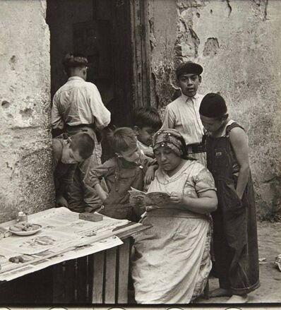 Helen Levitt, 'Mexico City (Woman Reading)', 1941