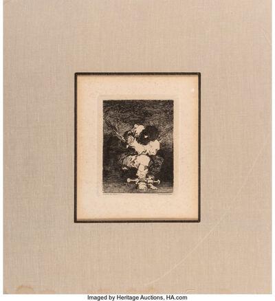 After Francisco José de Goya, 'Le Prisonnier', c. 1880