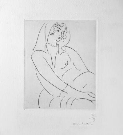 Henri Matisse, 'Jeune Femme, voile sur la tete ', 1929