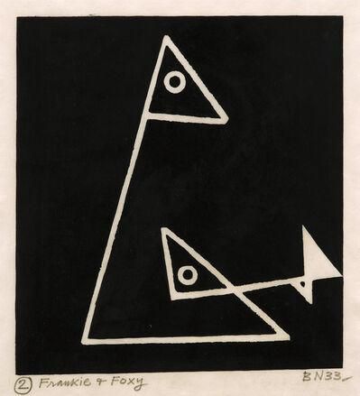 Ben Nicholson, 'Foxy & Frankie (C. 3, P.Q. II.I.b)', 1933