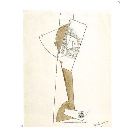 Henri Laurens, 'Tête stylisée cubiste', 1917