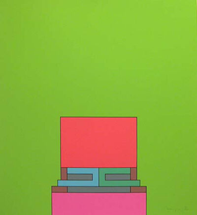 Robyn Denny, 'The Heavenly Suite (green)', 1971