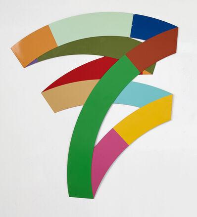 Beat Zoderer, 'Ringfaltung #3', 2013