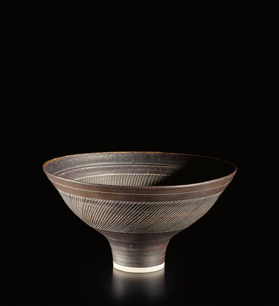Lucie Rie, 'Footed bowl', circa 1970