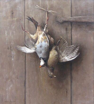 Sarah Lamb, 'Hanging Pheasant Hen and Chukkar', 2015