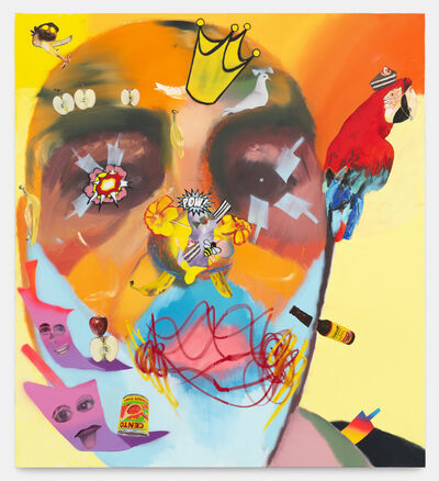 Alessandro Pessoli, 'Adorned King', 2020