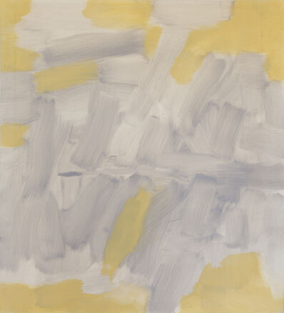 Carl Holty, 'Untitled (Gray, Yellow)', 1965