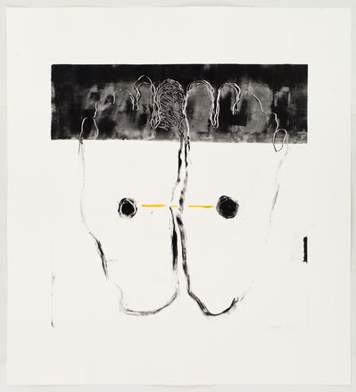 Endale Desalegn, 'Black toes', 2015