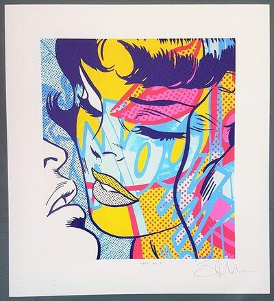 Ben Allen, 'Hope No. 3 (Pop Art, Street Art, Roy Lichtenstein) Ships within 24h (U.S. only)', 2020