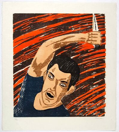 Richard Bosman, 'Leap; Attacker (S. 32; 36)', 1982-1983