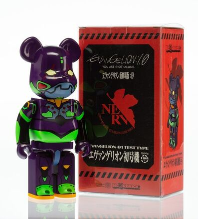 BE@RBRICK X Evangelion, 'EVA-1 Test Type 400%', 2013