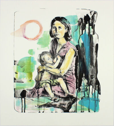 Hung Liu 刘虹, 'Breast Milk ', 2015