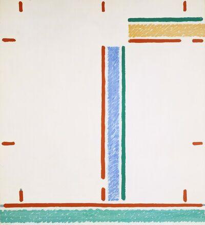 Martin Barré, '80-A - 110 x 100-B', 1980