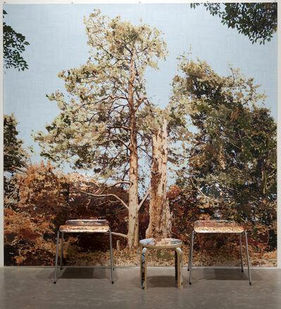 Gary Carsley, 'D.100/b A Tree Struck by Lightening (Wave Hill)', 2012