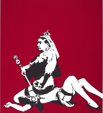 Banksy, 'Queen & Cuntry', 2008
