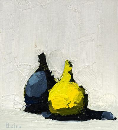 Stanley Bielen, 'Indigo & Chartreuse', 2020