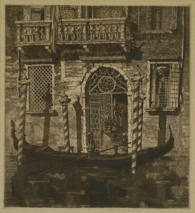 John Taylor Arms, 'The Balcony, Venetian Gateway', 1931