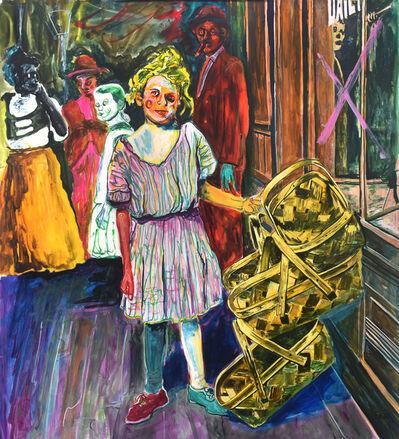 Farley Aguilar, 'Girl Selling Baskets', 2020