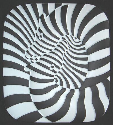 Victor Vasarely, 'Zebra Ceramique', 1977