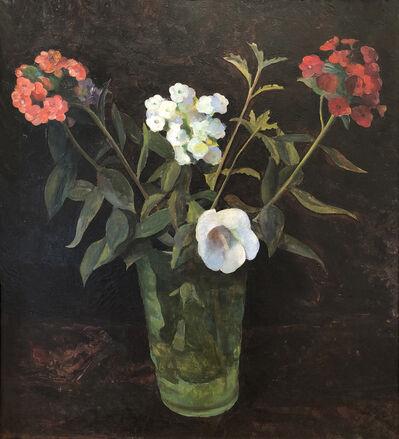 Carolyn Wyeth, 'Untitled (Flowers in Green Vase)', pre-1939