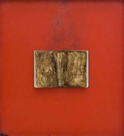 Bernard Aubertin, 'Livre brulé', 1974