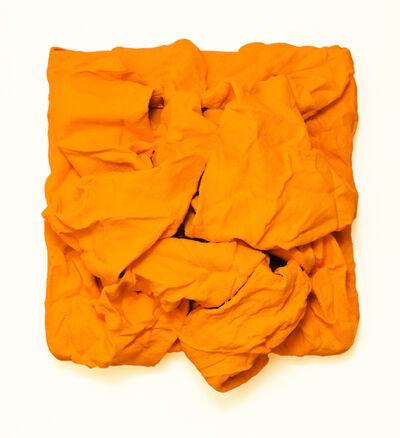 Chloe Hedden, 'Golden Yellow Folds', 2018