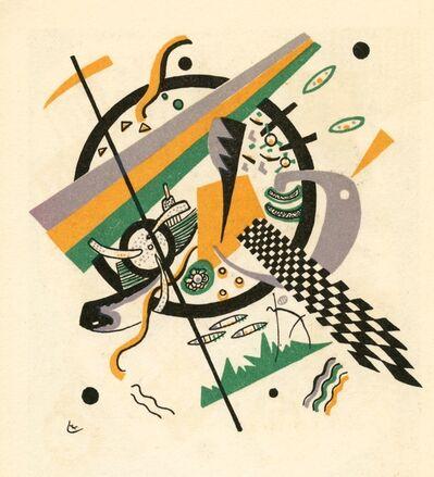Wassily Kandinsky, 'Kleine Welten IV', 1954