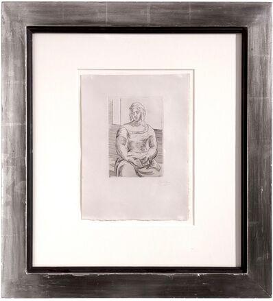 Pablo Picasso, 'Le Italienne avec livre,', 1919