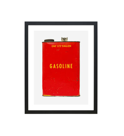 JP Greenwood, 'RED + YELLOW GASOLINE 1', 2018