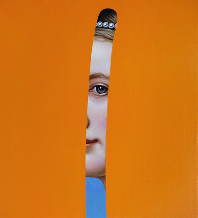 Lino Lago, ' Fake Abstract (Joseph Karl Stieler)', 2020